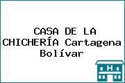 CASA DE LA CHICHERÍA Cartagena Bolívar