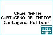 CASA MARTA CARTAGENA DE INDIAS Cartagena Bolívar