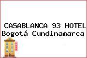 CASABLANCA 93 HOTEL Bogotá Cundinamarca