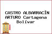 CASTRO ALBARRACÍN ARTURO Cartagena Bolívar