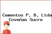 Cementos P. B. Ltda Coveñas Sucre