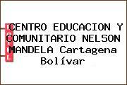 CENTRO EDUCACION Y COMUNITARIO NELSON MANDELA Cartagena Bolívar