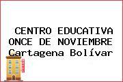 CENTRO EDUCATIVA ONCE DE NOVIEMBRE Cartagena Bolívar