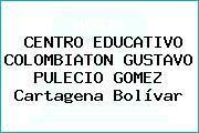 CENTRO EDUCATIVO COLOMBIATON GUSTAVO PULECIO GOMEZ Cartagena Bolívar