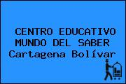 CENTRO EDUCATIVO MUNDO DEL SABER Cartagena Bolívar