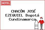 CHACÓN JOSÉ EZEQUIEL Bogotá Cundinamarca