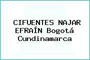 CIFUENTES NAJAR EFRAÍN Bogotá Cundinamarca