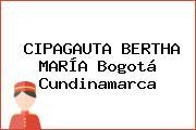 CIPAGAUTA BERTHA MARÍA Bogotá Cundinamarca