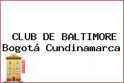 CLUB DE BALTIMORE Bogotá Cundinamarca