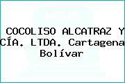 COCOLISO ALCATRAZ Y CÍA. LTDA. Cartagena Bolívar