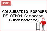 COLSUBSIDIO BOSQUES DE ATHAN Girardot Cundinamarca