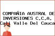 COMPAÑIA AUSTRAL DE INVERSIONES C.C.A. Cali Valle Del Cauca