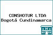 CONSHOTUR LTDA Bogotá Cundinamarca