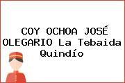 COY OCHOA JOSÉ OLEGARIO La Tebaida Quindío