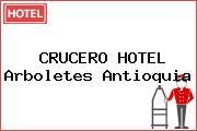 CRUCERO HOTEL Arboletes Antioquia