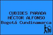 CUBIDES PARADA HÉCTOR ALFONSO Bogotá Cundinamarca
