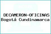 DECAMERON-OFICINAS Bogotá Cundinamarca