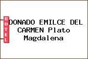 DONADO EMILCE DEL CARMEN Plato Magdalena