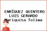 ENRÍQUEZ QUINTERO LUIS GERARDO Mariquita Tolima