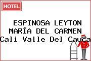 ESPINOSA LEYTON MARÍA DEL CARMEN Cali Valle Del Cauca