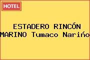 ESTADERO RINCÓN MARINO Tumaco Nariño