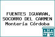 FUENTES IGUARAN. SOCORRO DEL CARMEN Montería Córdoba