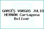 GARCÉS VARGAS JULIO HERNÁN Cartagena Bolívar