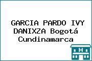 GARCIA PARDO IVY DANIXZA Bogotá Cundinamarca
