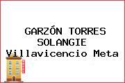 GARZÓN TORRES SOLANGIE Villavicencio Meta