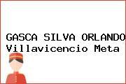 GASCA SILVA ORLANDO Villavicencio Meta
