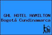 GHL HOTEL HAMILTON Bogotá Cundinamarca