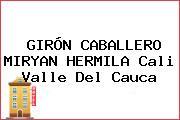 GIRÓN CABALLERO MIRYAN HERMILA Cali Valle Del Cauca