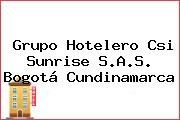 Grupo Hotelero Csi Sunrise S.A.S. Bogotá Cundinamarca