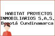 HABITAT PROYECTOS INMOBILIARIOS S.A.S. Bogotá Cundinamarca