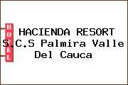 HACIENDA RESORT S.C.S Palmira Valle Del Cauca