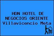 HDN HOTEL DE NEGOCIOS ORIENTE Villavicencio Meta