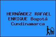HERNÁNDEZ RAFAEL ENRIQUE Bogotá Cundinamarca