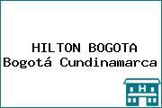 HILTON BOGOTA Bogotá Cundinamarca