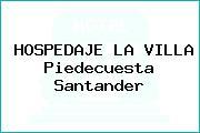 HOSPEDAJE LA VILLA Piedecuesta Santander