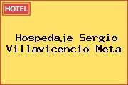 Hospedaje Sergio Villavicencio Meta