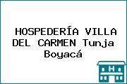 HOSPEDERÍA VILLA DEL CARMEN Tunja Boyacá
