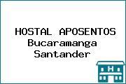 HOSTAL APOSENTOS Bucaramanga Santander