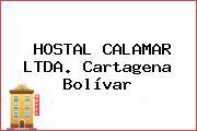 HOSTAL CALAMAR LTDA. Cartagena Bolívar