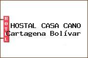 HOSTAL CASA CANO Cartagena Bolívar