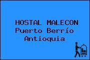 HOSTAL MALECON Puerto Berrío Antioquia