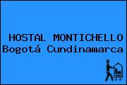 HOSTAL MONTICHELLO Bogotá Cundinamarca