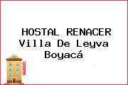 HOSTAL RENACER Villa De Leyva Boyacá