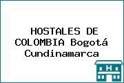 HOSTALES DE COLOMBIA Bogotá Cundinamarca
