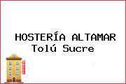 HOSTERÍA ALTAMAR Tolú Sucre