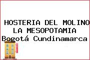 HOSTERIA DEL MOLINO LA MESOPOTAMIA Bogotá Cundinamarca